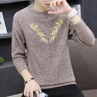 毛衣男韩版2018秋季新款男士针织衫圆领长袖线衣冬季套头针织毛衫