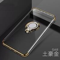 苹果6手机壳iPhone6s透明电镀ip6s支架ip0ne防摔pg潮6六4.7寸男女