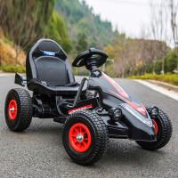 儿童电动车四轮卡丁车遥控玩具电动汽车可坐男女宝宝充气轮沙滩车