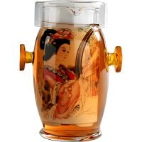 玻璃茶具 红茶杯 泡茶器 双耳杯过滤茶壶 青花陶瓷家用