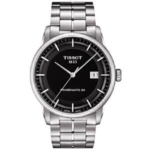 天梭Tissot-Luxury系列 T086.407.11.051.00 机械男表