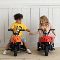 儿童电动摩托车三轮车甲壳虫玩具车