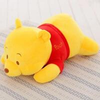 趴趴熊小熊维尼熊抱枕毛绒玩具泰迪公仔趴枕布娃娃送女友生日礼物 超大款 全长1米