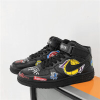 新百伦支撑 空军一号男鞋aj1高帮鞋韩版运动篮球鞋新款樱木花道乔1芝加哥板鞋