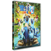 Rio里约大冒险2 第二部 DVD9 3D电脑动画音乐喜剧冒险片国英双语