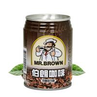 六罐包邮 朗咖啡 原味咖啡饮料 3合1咖啡即饮品 240ml/罐装