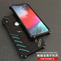 iPhone xs max金属手机壳蝙蝠侠iphone xs手机壳苹果10保护壳iPho iPhone xs/x 【蝙