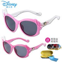 迪士尼旅行出游太阳镜潮款防紫外线偏光墨镜小女孩时尚公主眼镜