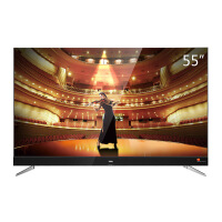 TCL 55C2 55英寸 RGB真4K超高清 64位34核电视 黑色 新款上市