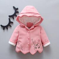 女童卫衣秋冬婴儿秋装洋气小儿童秋冬女宝宝外套