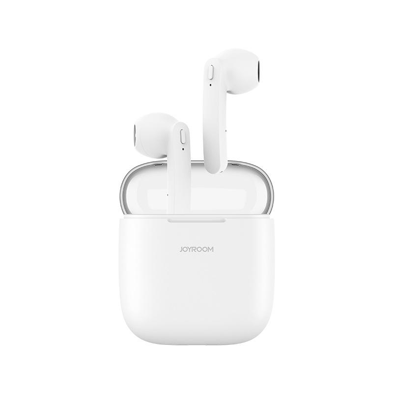 机乐堂(JOYROOM) T04蓝牙耳机 4.2安卓手机适用苹果手机通用 白色 新品上新,多多惠顾