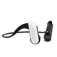 /骨传导蓝牙耳机无线挂耳式双耳不入耳跑步运动颈挂脑后式重低音防水可接听电话超长待机骨传感 E3 黑白色(赠送手臂包+收