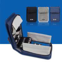 3DSLL/XL单肩包大容量NEW 3DS收纳包充电器线配件整理盒保护套