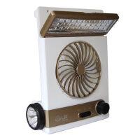 太阳能充电风扇学生宿舍台式蓄电池风扇便携户外帐篷灯 支持礼品卡支付