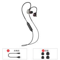 BS5双耳运动无线蓝牙耳机挂耳式隐形跑步耳塞入耳式重低音 官方标配