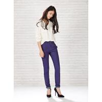 【满299减200】美特斯邦威女装学院风格休闲长裤248600