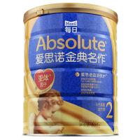 每日金典名作韩国原装进口婴幼儿配方牛奶粉2段800克