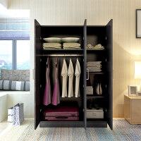御目 大衣柜 板式成人衣柜组合衣橱家用简约现代2门3门4组装木质整体柜子推拉门收纳柜储物柜 创意家具