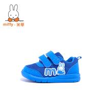 Miffy米菲 童鞋男童运动鞋春秋新款女童宝宝鞋儿童休闲鞋子