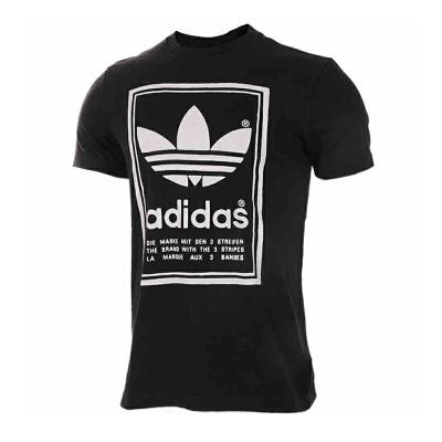 Adidas阿迪达斯男装 三叶草运动休闲短袖T恤 BP6154三叶草运动休闲短袖T恤