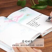 古风本子a6彩页记事本文具 b6精装手帐本硬面抄 复古典创意笔记本