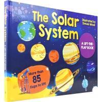 【首页抢券300-100】The Solar System 太阳系 儿童科普百科 英语翻翻纸板书 7~10岁儿童启蒙读物