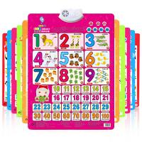 【悦乐朵玩具】儿童早教启蒙凹凸有声挂图认知卡片婴幼儿宝宝发声识字挂图看图认字母识字卡片语音汉字拼音全套1-3-6岁礼物玩