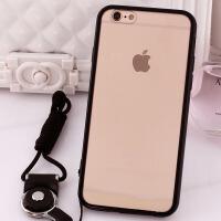 苹果6plus手机壳iPone65.5寸6S普拉斯6pius挂绳A1699卡通套A1524