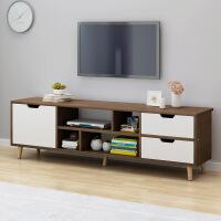 【一件3折】电视柜茶几组合简约现代客厅卧室仿实木家用经济型【一件3折】电视桌机柜简易