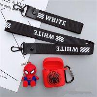 保护套适用华为flypods硅胶耳机套华为蓝牙无线耳机硅胶 【华为耳机套】蝙蝠侠 挂绳+支架