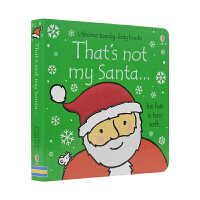 That's not my Santa Usborne 那不是我的圣诞老人 触摸撕不烂纸板书 儿童读物原版进口