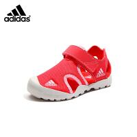 【到手价:289元】阿迪达斯Adidas童鞋19夏新款男女儿童中童包头凉鞋(5-10岁可选)BC0702 BC0703