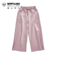 【顺心而行】NU诺诗兰户外新款女式时尚潮流运动卫裤KL072118