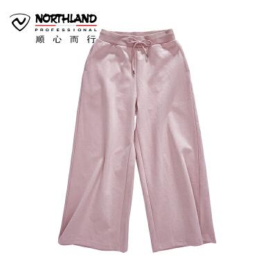 【品牌特惠】NU诺诗兰户外新款女式时尚潮流运动卫裤KL072118 诺诗兰品牌大促