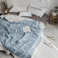 六层纱布毛巾被儿童幼儿园婴儿午睡纯棉卡通单人毛毯薄款被子