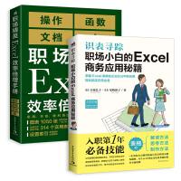 职场小白的Excel商务应用秘籍+职场精英Excel效率倍增手册(套装2册)