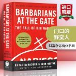 华研原版 门口的野蛮人 英文原版 Barbarians at the Gate 华尔街商战纪实 美国商学院教材 正版进
