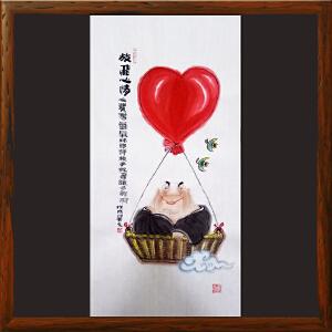 《放飞心情》山西省漫画学会副会长 新华社签约画家 (吴元R1)