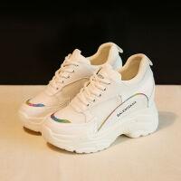 【网面透气】内增高小白鞋老爹鞋新款春夏季厚底百搭运动鞋女学生