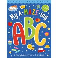 【首页抢券300-100】My Amazing ABC Sticker Activity Book 我的神奇字母活动书