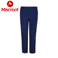 Marmot/土拨鼠秋冬款女式M3软壳长裤防泼水透气长裤