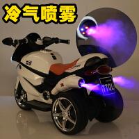 儿童电动摩托车小孩三轮车幼儿充电宝宝带遥控玩具