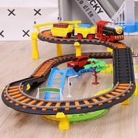 玩具车小火车电动轨道车儿童生日礼物