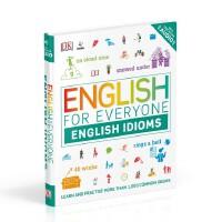 【现货】英文原版 DK人人学英语:习语自学指南 English for Everyone English Idioms