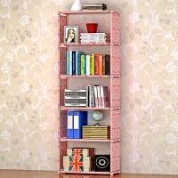 林仕屋加高层架简易书架 实用书橱 收纳置物架 自由组装架子书柜书架sj06