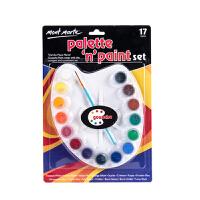 儿童水粉画颜料套装幼儿园宝宝涂鸦美术绘画diy工具
