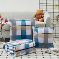 20191108021555496全棉抱枕被子两用靠垫被 纯棉午睡被靠枕大号