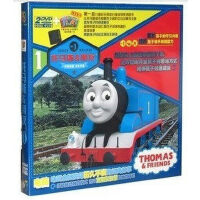 托马斯&朋友2(2DVD 书) 动画片 正版DVD小火车托马斯和他的朋友们