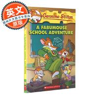老鼠记者 英文原版 A Fabumouse School Adventure#38 神奇鼠校园大冒险 Geronimo