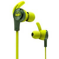魔声(Monster) iSport Achieve 爱运动有线 入耳式耳机 带麦 防汗线控 新品发售 - 绿色